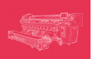 溶剂型喷绘机